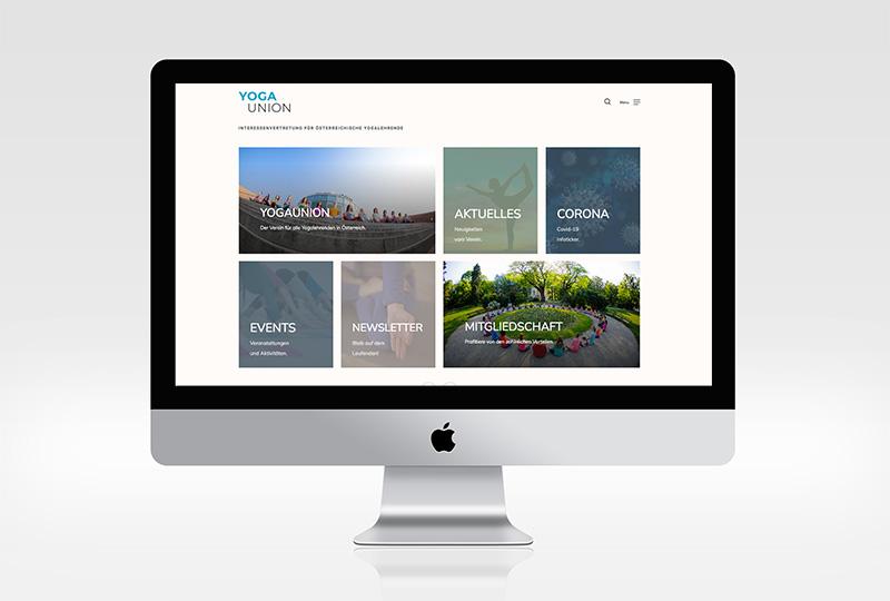 Yogaunion Screenshot Website